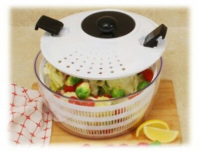 Salad Spinner Bowl Combo Locking and Straining High
