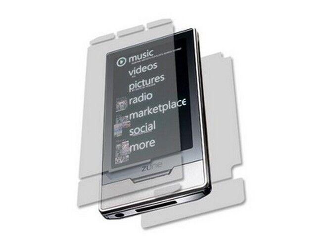 Skinomi Full Body Protector Shield Skin for Zune HD