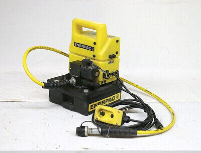 Enerpac Pud-1100b - Pump Electric Hydraulic 115v 12 H.p. 1 Ph