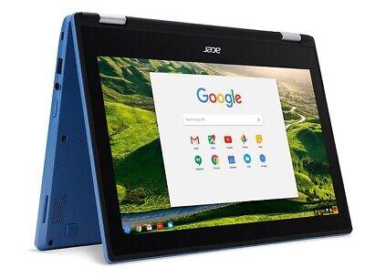 """Acer CB5-132T-C18Y Chromebook R11 11.6"""" HD Touchscreen Celeron N3060 1.6GHz 4GB"""