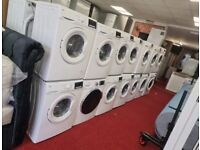 Ex-display & used washing machine with warranty and delivery