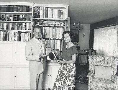 Foto Opernsänger RUDOLF SCHOCK - Vintage von 1985 - Pressefoto  - Oper Tenor