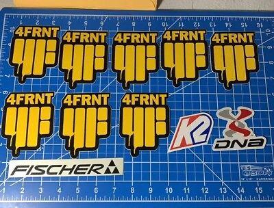 Rare Ski Stickers 4FRNT K2 Twintip Sticker Lot 100% Guaranteed Authentic, used for sale  Breinigsville