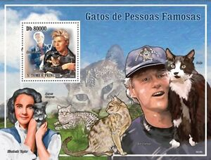 Cats and masters Bowie, Clinton, Taylor Sao Tome 2009 MNH Sc 2193 #ST9604b - <span itemprop='availableAtOrFrom'>Olsztyn, Polska</span> - Cats and masters Bowie, Clinton, Taylor Sao Tome 2009 MNH Sc 2193 #ST9604b - Olsztyn, Polska