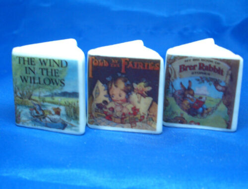 Birchcroft Thimbles -- Miniature Book Style  -- Set of Three Children Stories