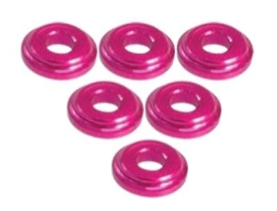 Shock Tower Shim - 3RACING 3RAC-WFS820/PK Shock Tower Shim M8 x 2mm (6pcs) 10 Pcs 1/10 RC Car