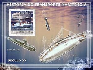 Transport V / 20th Cent. Ships submarines Mozambique 2009 MNH Sc.1856 #MOZ9124b - Olsztyn, Polska - Transport V / 20th Cent. Ships submarines Mozambique 2009 MNH Sc.1856 #MOZ9124b - Olsztyn, Polska