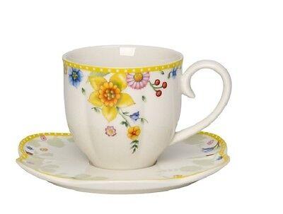Villeroy &  Boch Spring Awakening Kaffeetasse mit Untertasse 0,26 ltr.