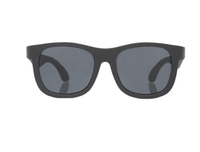 Babiators Matte Frame Navigator Sunglasses Ages 3-5, Black