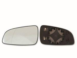 Spiegelglas Außenspiegel links asphärisch beheizbar für Opel Astra H