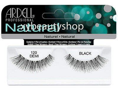 40 Pairs Ardell Natural 120 Demi Fashion Lash Fake Eyelashes Black