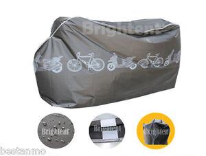 Black Waterproof Bicycle Cover BMX Road Racing Mountain Bikes Storage BBK1B