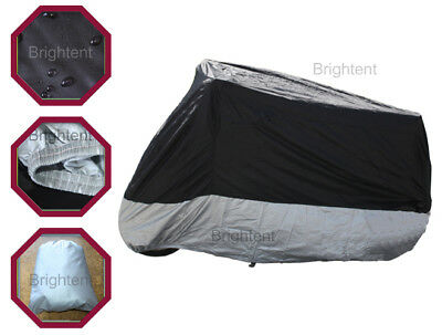 - Breathable Waterproof Motorcycle Cover Bike Scooter Dust / UV Protection GM3BS