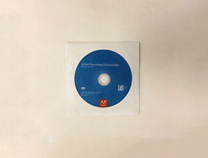 Adobe Photoshop CS6 Extended DVD (Win/Mac)
