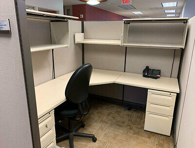 Used Office Cubicles Herman Miller Ao2 6x7 Cubicles