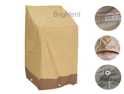 Garden Patio Waterproof Furniture Cover Stacking Chair 6 Chairs Storage GS32P ()