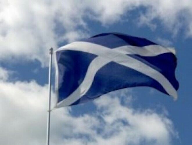 Giant Scotland BLUE SALTIRE EURO 2020 2021 Flag SPEEDY DELIVERY