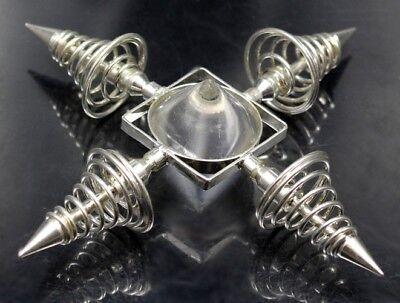 Bergkristall Spiralgenerator Edelsteine Frater Energiespirale