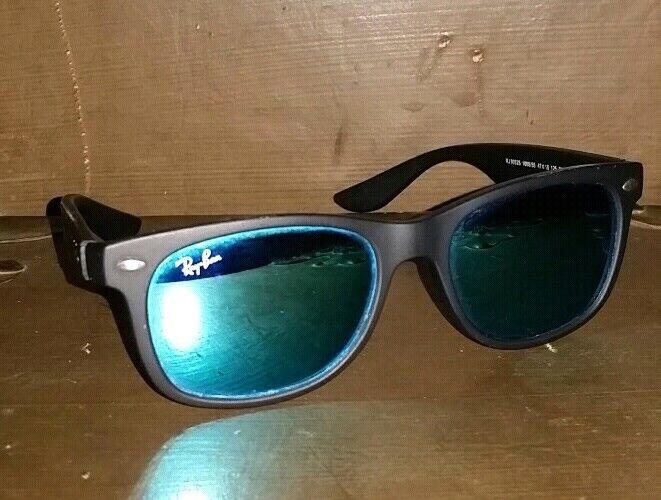 Ray Ban Junior RJ9052S Black Mirrored Sunglasses *
