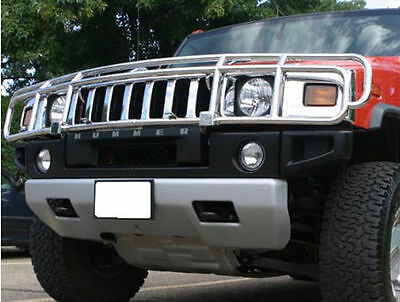 03-09 Hummer H2 Front Stainless Steel Grill Guard