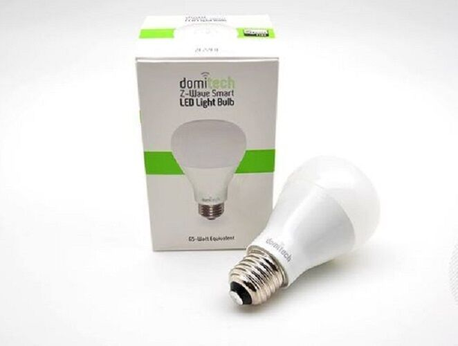 DOMI TECH - ZBulb, Z-Wave Dimmable LED Light Bulb E27