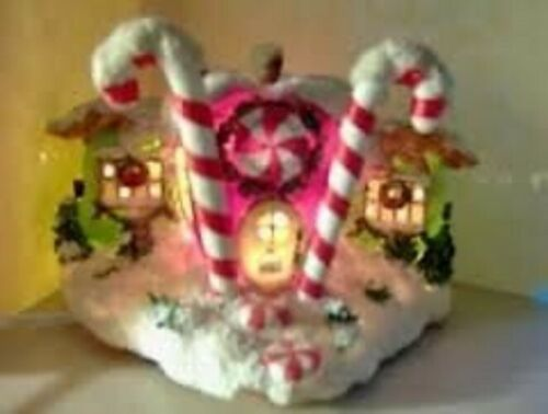 CHARMING TAILS BY DEAN GRIFF SILVESTRI CANDY APPLE CANDY STORE 87611 ~ LIGHTED