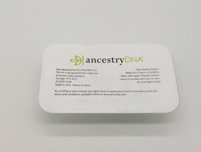 Ancestry DNA Genetic Testing Kit **TEST ONLY/HAVE TO SEND IN SELF**