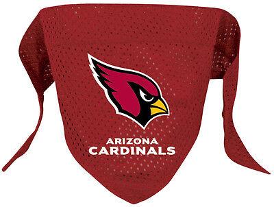 Arizona Cardinals Dog Jersey (NEW ARIZONA CARDINALS PET DOG MESH JERSEY BANDANA ALL SIZES)