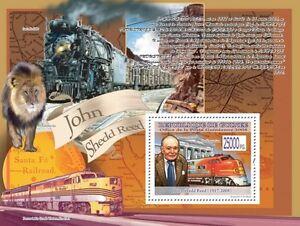 Train Santa Fe 300 C John Shedd Reed Guinea 2008 s/s MNH Mi.Bl.1576 #GU08104a - <span itemprop='availableAtOrFrom'>Olsztyn, Polska</span> - Train Santa Fe 300 C John Shedd Reed Guinea 2008 s/s MNH Mi.Bl.1576 #GU08104a - Olsztyn, Polska