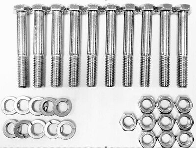 10 Pack Shear Pins For Tractorpto Shafts Fits All Shearbolt Cutters Free Ship