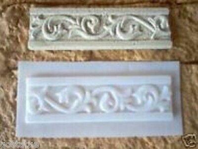 Monkey tile mold Plaster cement plastic travertine designed mould