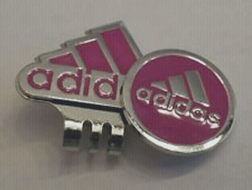 Pink Adidas Ball Marker &  Hat Clip Free 1 Martini Tee with