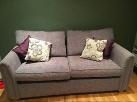 Beautiful sofa bed opens to double bed only two years old
