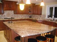 kitchen countertops and bathroom vanity tops made by ItalianCNC