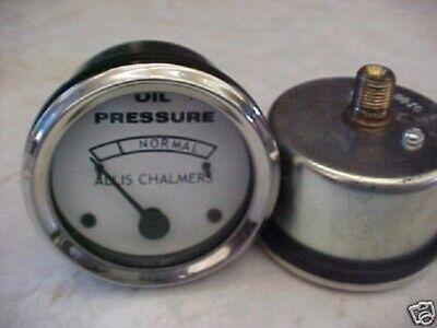 Allis Chalmers Tractor Oil Pressure Gauge B C Ca Wc Wd Wd45
