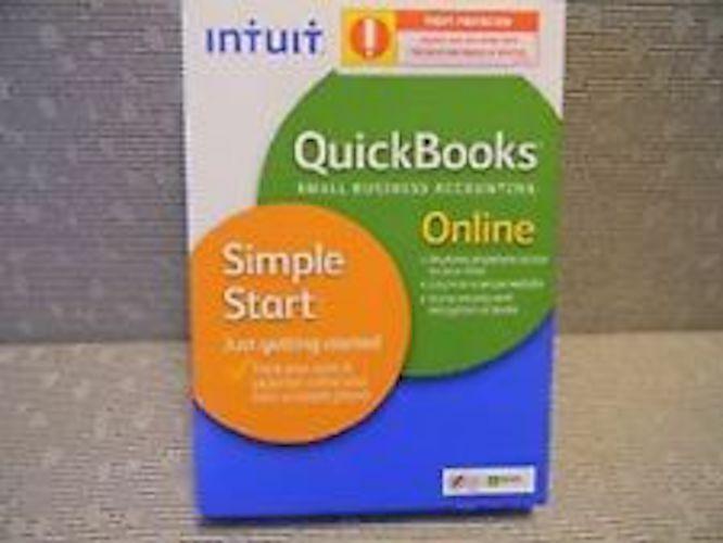 QuickBooks Online Simple Start 2016 (1-Year Subscription) Windows|Mac INT940800F036