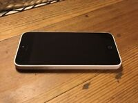 Excellent iPhone 5C, white, on O2, can deliver