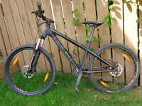 woman's GHOST all terrain bike, front/back HYDRAULIC brakes