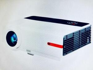 Promo! NEW Home Theater LED Projector  1280X800, 5.8 inch LCD TFT display, 3200 Lumens, 1500:1, REGAL 808,$429(was$599)