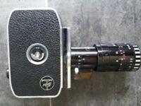 Bolex Paillard P2 Cine Camera. Cased. 1960s Zoom Reflex. 1.9 Lens.