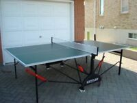 kettler ping pong table used good condition collection manchester