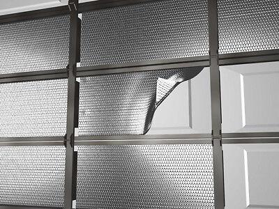 NASATEK Pre-Cut Single Car Garage Door Insulation Kit (Double Layer -