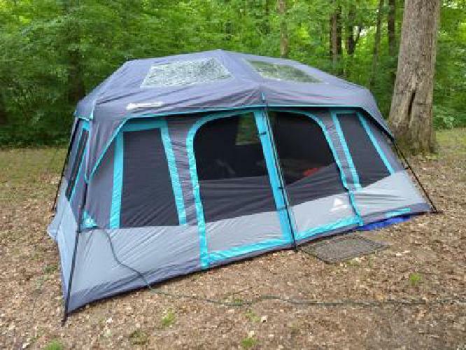 Instant Cabin Tent Large 10-Person Dark Rest Blackout Window