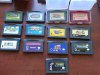 gameboy advance games + handheld concole