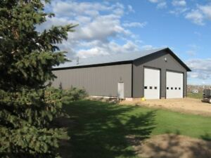 5200 square foot heated shop