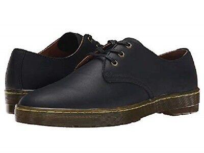 Mens US Size 11 Doc DR MARTENS CORONADO Black Leather Shoe UK 10  Womens 12