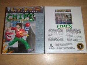 CHIPS-CHALLENGE-LYNX-GAME-NEW-FACTORY-SEALED