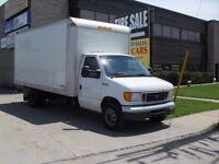 Ford 2004 F450 Super Duty Cube Van for sale
