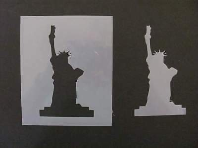 Statue of Liberty Mylar Stencil & Template Airbrush Paint Wood USA L497 (Statue Of Liberty Stencil)