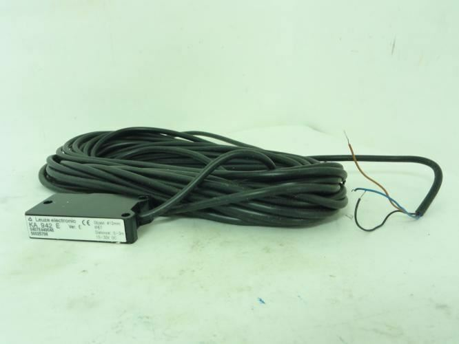192737 New-No Box, Leuze  KA-942-E Photo Safety Sensor, 0/3M Range, 10/30VDC